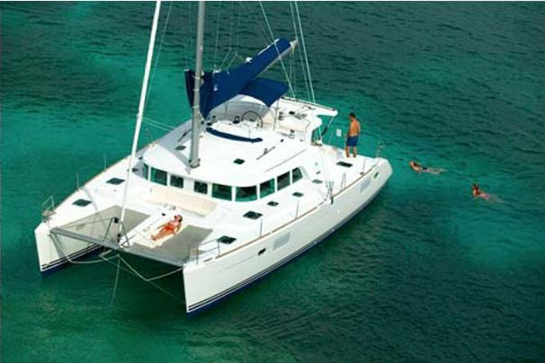 Lagoon 440 Manufacturer Provided Image: Moored