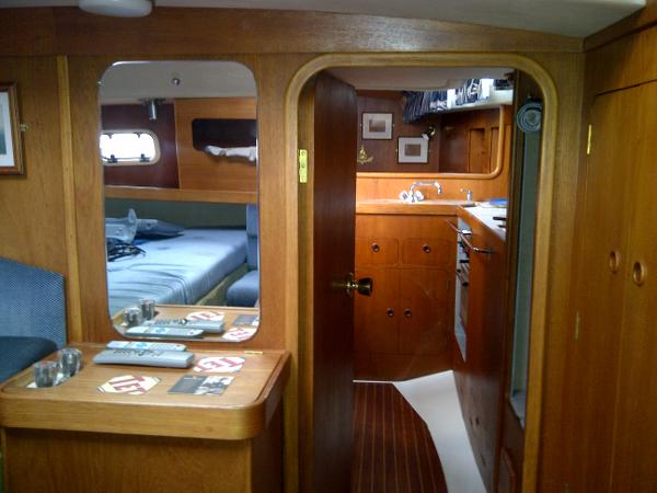 View forward stb side from aft master cabin