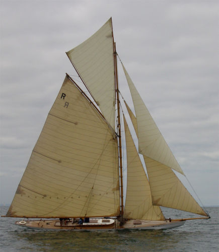 Charlie Peel Racing Gaff Cutter Photo 1
