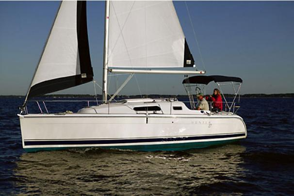 Hunter 27 Manufacturer Provided Image: Hunter 27