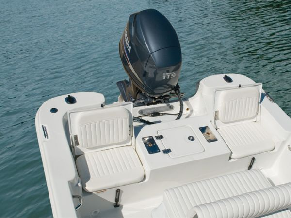2015 Nautic Star 1910 Nautic Bay Rear Jump Seats and Storage