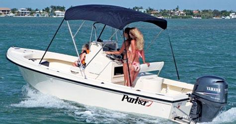 Parker 1801 Center Console Manufacturer Provided Image
