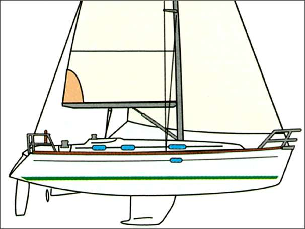 Beneteau 361 Manufacturer Provided Image