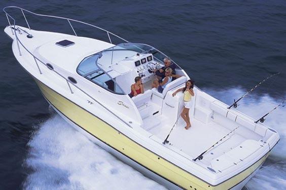 Optional inboard power.