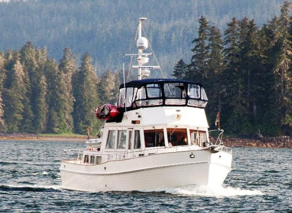 Grand Banks 49 Classic Alaskan Dream Cruising