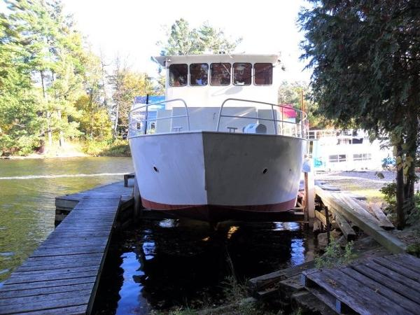 "Custom 50' x 15' x 2'2"" Steel Custom River Boat/Charter Yacht"