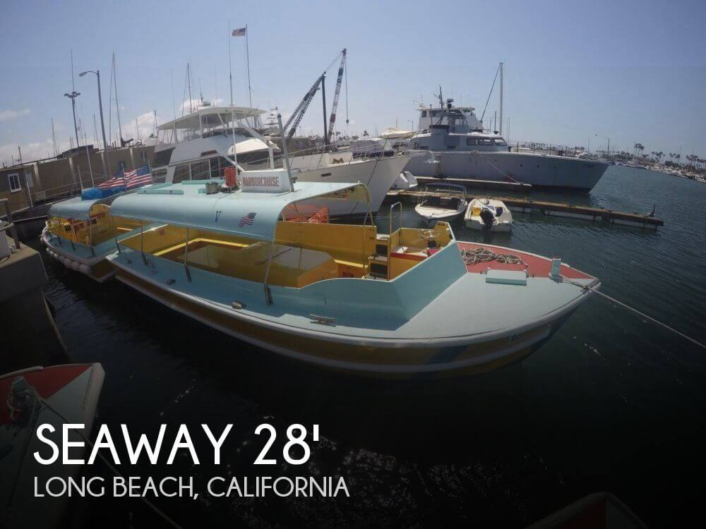 Seaway Boats Company Custom 28' Water Taxi 1975 Seaway Boats Company Custom 28' Water Taxi for sale in Long Beach, CA