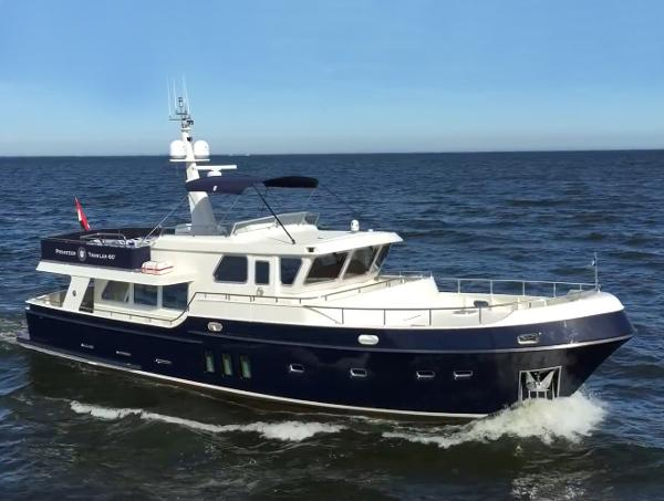 Privateer Trawler 60 Stabilizers ``Seabreeze``
