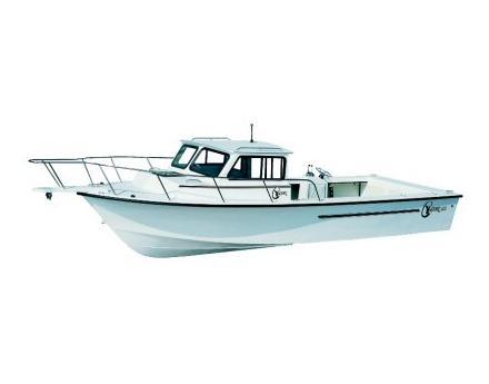 C-hawk Boats 25 Cabin Manufacturer Provided Image