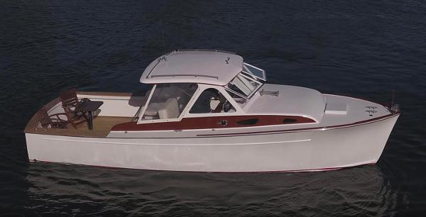 Rybovich 28 Fully Restored - Starboard Profile
