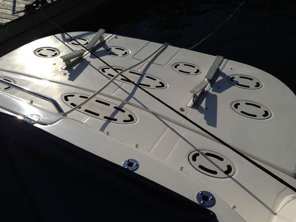 Hydraulic Swim Platform