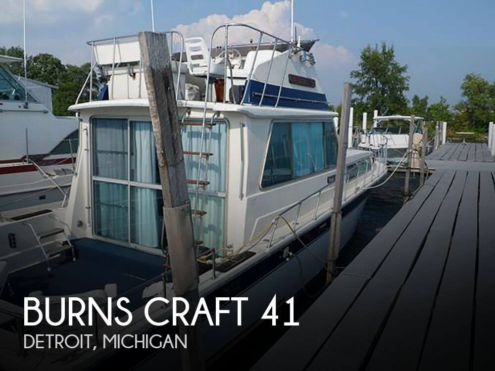 Burns Craft 41 1979 Burns Craft 41 for sale in Detroit, MI