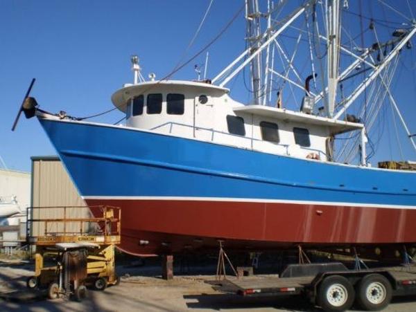 Steel Trawler Shrimper