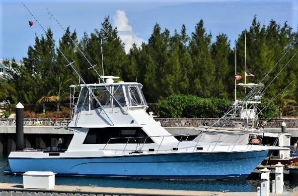 Custom Flybridge Sportfish Profile