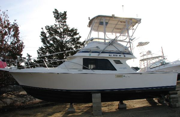 Blackfin 29 Flybridge Profile