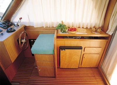 Galley and Helm