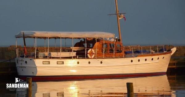 Silver John Bain Ormidale Twin Screw Motor Yacht