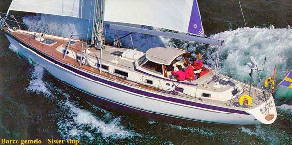 Hallberg-Rassy 53 Hallberg-Rassy 53 Sailing