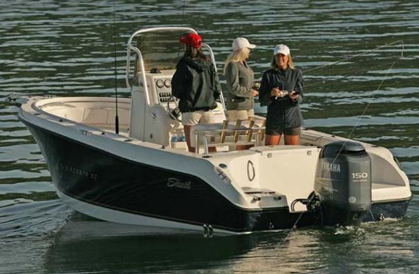 Seaswirl Striper 2101 Center Console O/B Manufacturer Provided Image: Striper 2101 CC