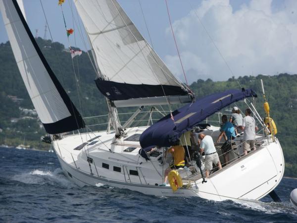 Bavaria 45 Cruiser Bavaria 45 at sea