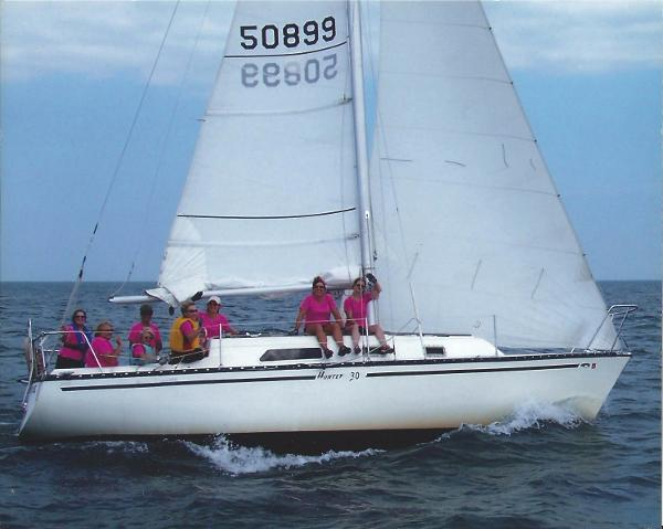 Hunter 30 Starboard Tack