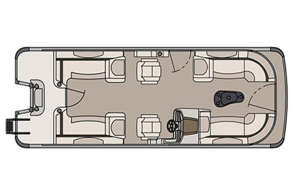 Avalon Catalina Quad Lounge - 23'