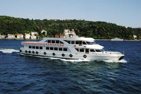 Turkish Shipyards DAILY EXCURSION Passenger BOAT On the water