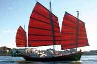 Colvin steel adapted chinese junk