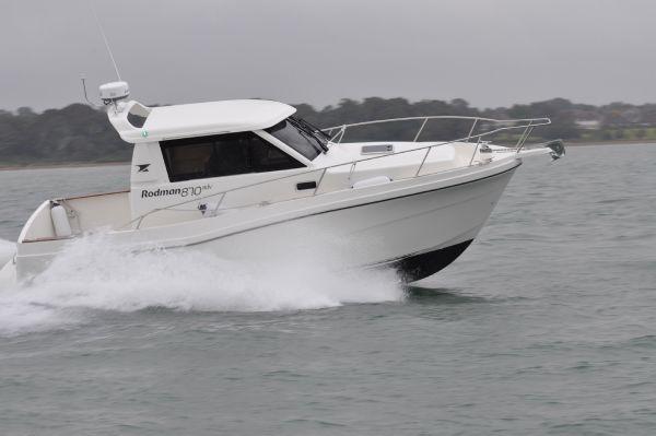 Rodman 870 HT Starboard Side