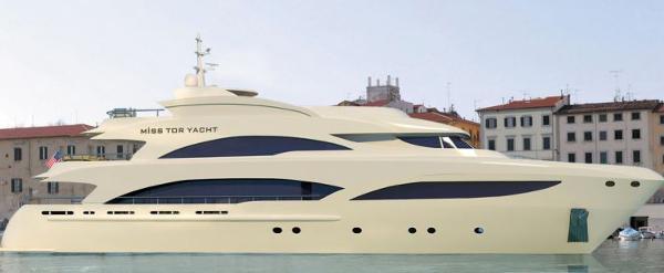 Miss Tor Yacht 130 Tri-Deck