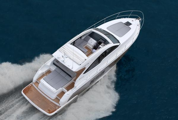 Fairline Targa 48 Open Aerial View