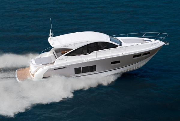 Fairline Targa 48 Open Side View