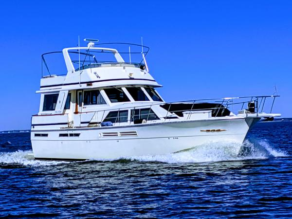 "Chris-Craft Constellation 500 50' Chris Craft Constellation 1987 ""Interlude"" 10/24/2019 photo"