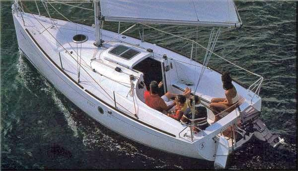 Beneteau First 211 Beneteau brochure picture.
