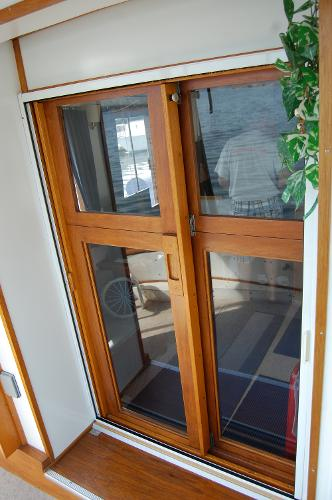 Aft sliding doors