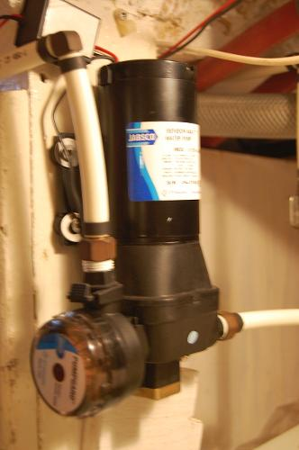 Jabsco Pressurized Water