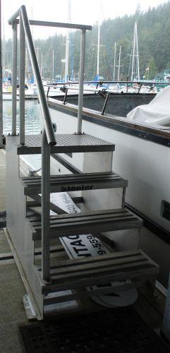 boarding steps