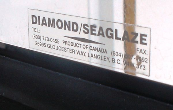 Pacific Seaglaze safety glass