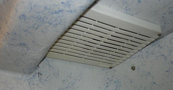 more ventilation