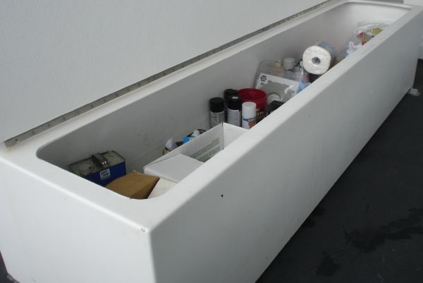 plumbed deck box