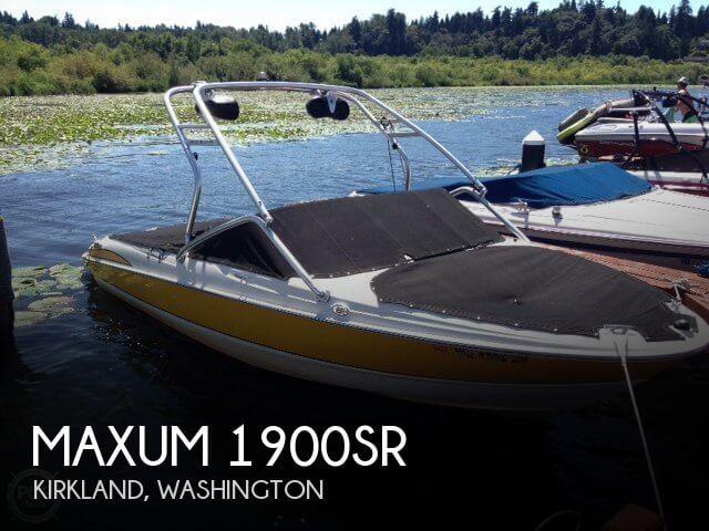 Maxum 1900 SR 2007 Maxum 1900SR for sale in Kirkland, WA