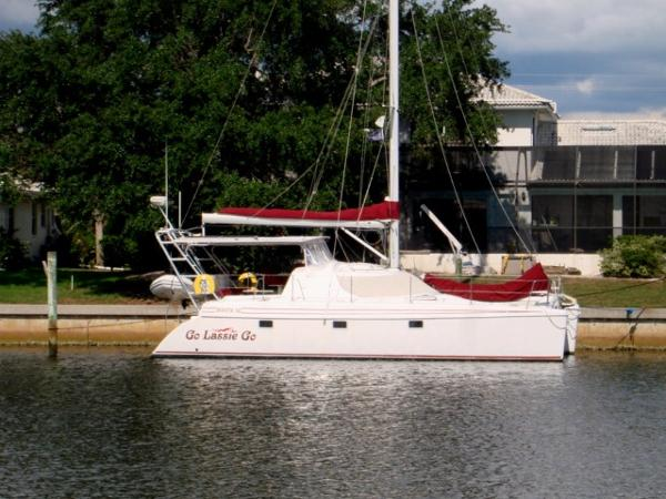 Manta 38 Sail Catamaran Go Lassie Go