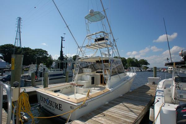 Topaz Sportfish Starboard Aft