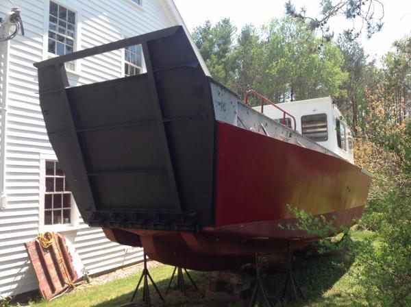 Ex USCG Fiberglass Landing Craft