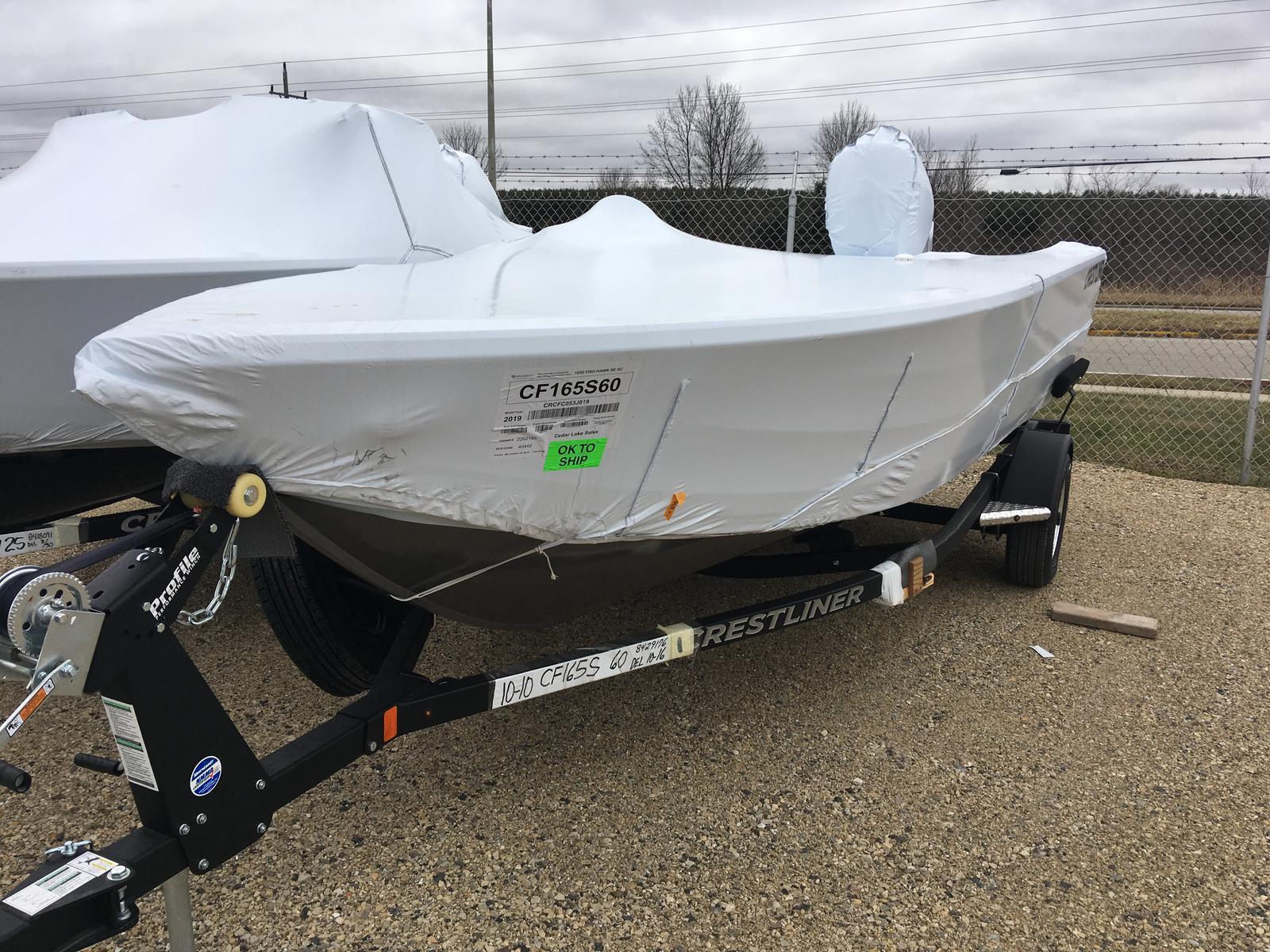 Crestliner 1650 FISH HAWK SE SC