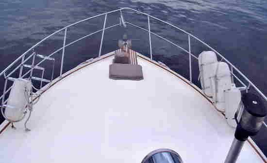 Foward sun deck