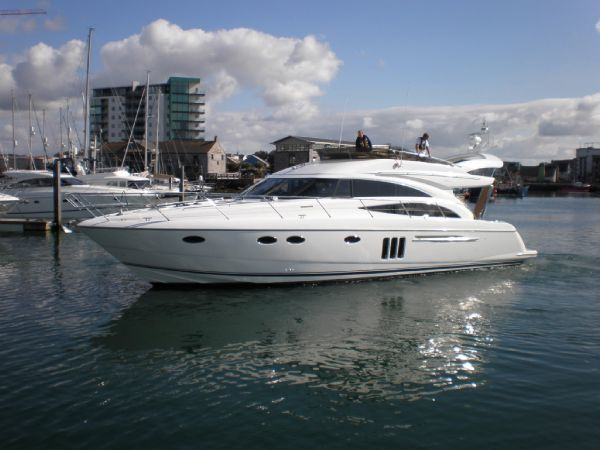 Princess 58 Flybridge Actual Boat