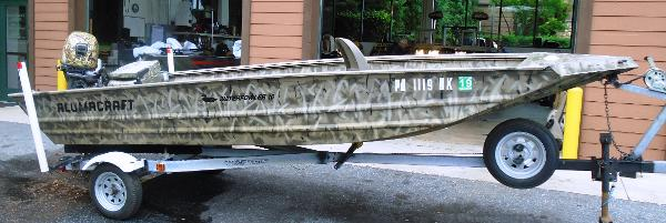 Alumacraft Water Fowler 16