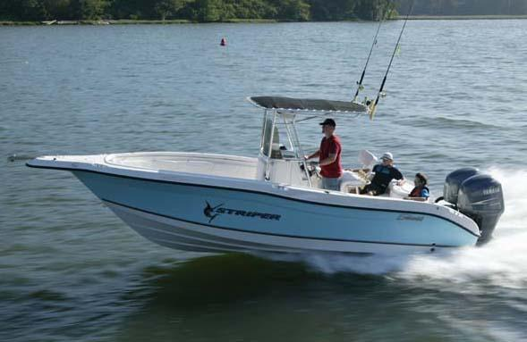 Seaswirl Striper 2301 Center Console O/B Manufacturer Provided Image: Striper 2301 CC