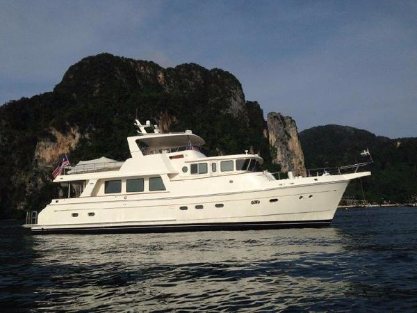 Selene 66 Flybridge Profile